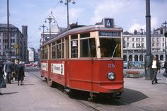 Hamburg 1964 Straßenbahn nach Hamburg-Niendorf