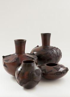 Africa | Nala Family Ceramics,  South Africa || Photographer: DAVID ROSS