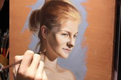 Oil on linen by Florent Farges. Oil paint portrait study made from a photograph, thanks for watching ! Description en français plus bas... In this study I am...