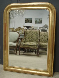 French Louis Philippe antique mirror from www.jasperjacks.com