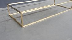 Metal Furniture, Home Decor Furniture, Rustic Furniture, Living Room Furniture, Furniture Design, Coffee Table Base, Brass Coffee Table, Table Frame, Chic Living Room
