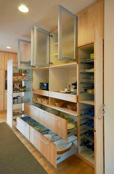 Cozinha 後ろの棚参考 引き出しのバリーション