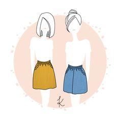 Jupe/Jupe-culotte Formentera - PDF - Anne Kerdilès Couture - Patron de couture femme
