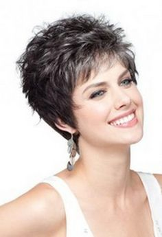Usually, the short haircuts for older women target some haircuts that exclude from their category the messy hair style or the pixie style. Description from pinterest.com. I searched for this on bing.com/images