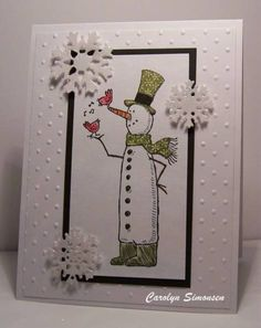 CAS137 by snowmanqueen - Cards and Paper Crafts at Splitcoaststampers