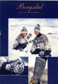 Norwegian Knitting, Beautiful Norway, Fair Isle Knitting, Knitting Patterns, Knitting Ideas, Vintage Knitting, Traditional Outfits, Scandinavian, Fair Isles
