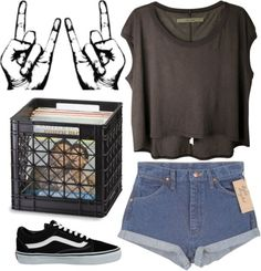 """Rock"" by a-kasha ❤ liked on Polyvore"