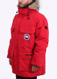 4a42f6e4e2f Buy Expedition Parka - Red by Canada Goose from our Triads Mens range - Red  -   Triads Redesign