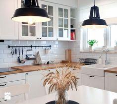 Realizacja mieszkania w stylu rustykalnym - Kuchnia, styl rustykalny - zdjęcie…