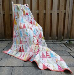 Quilt  Toddler Bed Quilt  Lap Quilt  Oversized Lap by GabryRoad, $325.00