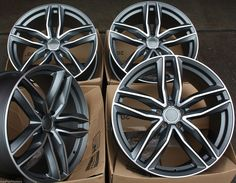 """20"""" GMF NEW RS6 STYLE ALLOY WHEELS FITS AUDI A6 SALOON 2011 in Vehicle Parts & Accessories, Car Wheels, Tyres & Trims, Rims   eBay"""