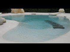 Como hacer una piscinas de arena con sistema de masilla