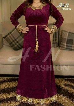 Embroidery Dress, Embroidered Dresses, Arab Fashion, Velvet Fashion, Tea Length Dresses, House Dress, Lingerie Sleepwear, Lace Tunic, Traditional Outfits