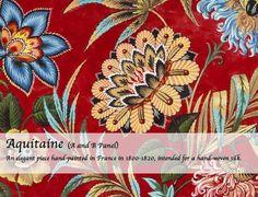 Aquitaine Aquitaine, Archive, Wallpaper, Prints, Fabrics, Wallpapers