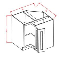 Best Ana White Build A 36 Corner Base Easy Reach Kitchen 640 x 480