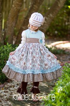 Amelia Dress – Kinderkouture  Girls Easter Dress  http://kinderkoutureclothing.com-another great one!!