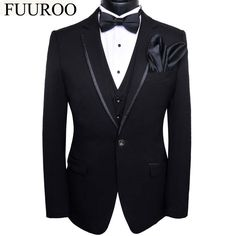 Tuxedo Wedding Suit, Wedding Suits, Groom Tuxedo, Wedding Dresses, Traje Black Tie, Traje A Rigor, Bespoke Clothing, Outfits Hombre, Tuxedo For Men