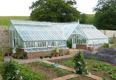 Greenhouse built into a hill. www.solarinnovations.com