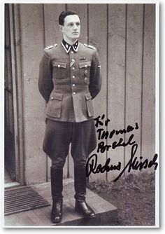 Rochus Misch, who died on Sept 5, 2013 in Germany at age 96, was the last surviving Hitler bodyguard who witnessed the last moments of the dictator. Misch was in the Berlin bunker when Hitler shot himself and was operating the switchboard. He spent 8 years in Soviet captivity and returned to Germany in 1953.His memoir in German, Der letzte Zeuge (The Last Witness), was published in 2008.