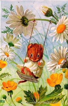 Swinging while your singing helps you keep your squeeking.....he ha ho hoo woo hoo.