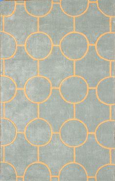 Large Modern Area Rug Carpet Lush Circular Geometric Designer Rug | eBay
