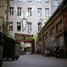 Kopi, Berlin squat