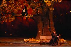 """A scene from """"Cyrano de Bergerac"""" performed by Turkish State Theatres.Ankara."""