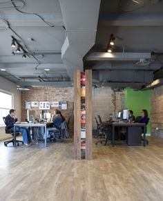Web design firm nclud has a great space located in Washington D.C. designed by Wingate Hughes Architects