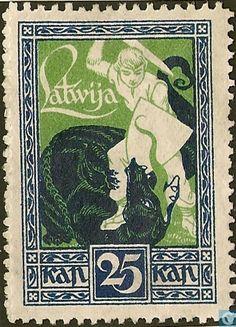 1919 Latvia - Liberation Kurland 1918