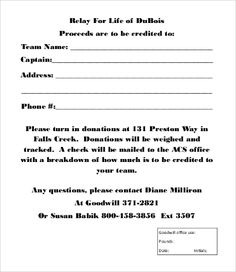 Donation Form Templates Gorgeous 12 Business Continuity Plan Templates  Word Excel & Pdf Templates .