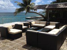 Amazing Ohana Wicker Furniture Outdoor Patio Furniture Deep Seating Set / Ohana  Depot