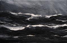Westmännerinseln 02/13.09.07, 2007, Acryl auf Leinwand, 160 x 250 cm