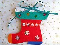 Botte de Noël à suspendre