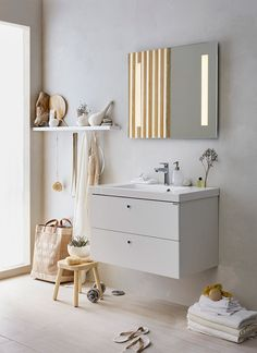 Interior design for Ballingslöv Interior Design, Interior Deco, Sweet Home Style, Laundry In Bathroom, Bathroom Interior Design, Interior, Interior Styling, Scandinavian Shelves, Living Room Designs