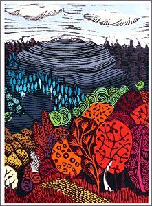 Liz Somerville Advanced Higher Art, Printmaking Ideas, Tree Artwork, Attic Ideas, High Art, Lino Prints, Food Illustrations, Print Artist, Art Pages