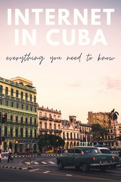 Our ultimate guide to how to use the internet in Cuba and how to get wifi in Cuba. There is internet in Cuba, but it can be slow and difficult to access - we've got all the tips including where to buy internet cards and why you need one, how to use a VPN in Cuba for internet security and censorship concerns, and much more. Amazing Destinations, Travel Destinations, Travel Guides, Travel Tips, Caribbean Vacations, Cuba Travel, Online Travel, Central America, North America