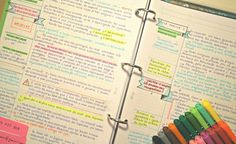Tax Law notes are much more fun when they have banners, flags, tags and colors. Plus, if you want to know how I keep up with all of this college madness, check it her College Notes, School Notes, Law School, School Motivation, Study Motivation, Law Notes, Study Organization, Pretty Notes, Beautiful Notes