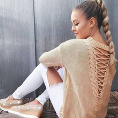 Long Sleeve Knit Tops Winter Hollow Out Sweater. HOT PRICES FROM ALI - Buy