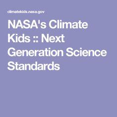 NASA's Climate Kids :: Next Generation Science Standards