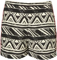 ShopStyle: Aztec Flat Front Shorts