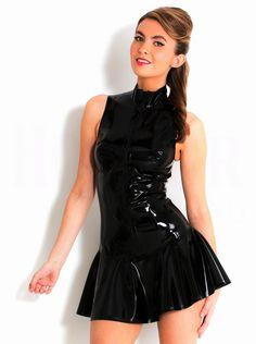 Alibaba グループ | AliExpress.comの ドレス からの 私たちの新しい店へようこそスタイル:クラブ/bar/ナイトクラブサイズ:s、 m、 l、 xl、 xxl1set=Dress+g- 文字列あなたが望む限り、、 を持っている限り、 我々としては、、 私たちは幸福あなたのために奉仕する!&nb 中の 良質の女性のセクシーなpvcレザーボンデージドレス袖なしのシャーリングミニbodyconスーパーショートドレスポールダンスエキゾチッククラッチ
