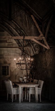 notice how the chandelier is hung Interior Exterior, Interior Design, Sweet Home, Ivy House, Cozy Cottage, Rustic Interiors, Wabi Sabi, Beautiful Interiors, Decoration