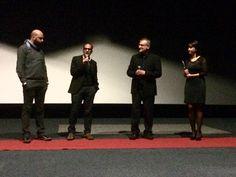 """Alessandro Minestrini """"AM Videomaker"""" e Alfredo Federico """"39Film Production"""" al Popoli e Religioni Film Fest."""