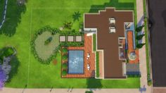 Mod The Sims: Monte El Legant (No CC) by Kompaktiv