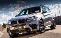 BMW X5M, F85, 2016, SUVs, luxury cars, silver x5