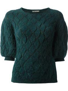 ALEXANDER MCQUEEN - textured knit top 6