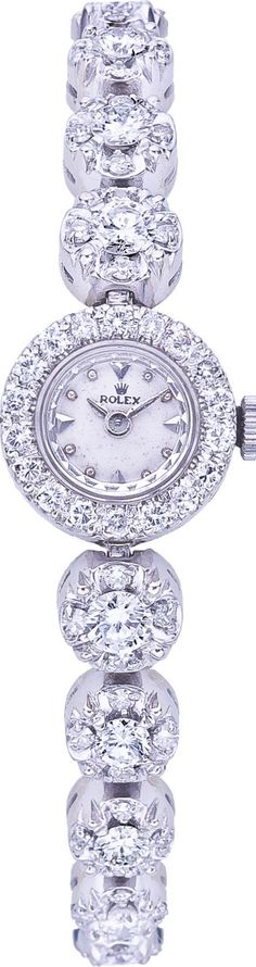 Another Favorite! Woman's Diamond Rolex watch dream. See more from Rolex at Maxon's Diamond Merchants! http://www.rockinghamdisplayshop.co.uk/