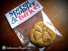 great idea for visiting teaching, seminary. Give w/scripture cookie recipe handout.