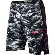 39cd8b046766 Nike Girls  Dry Elite Basketball Short (Wolf Gray Black