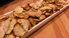 MAMMA MIA QUANTE RICETTE: Chips di Topinambur al forno